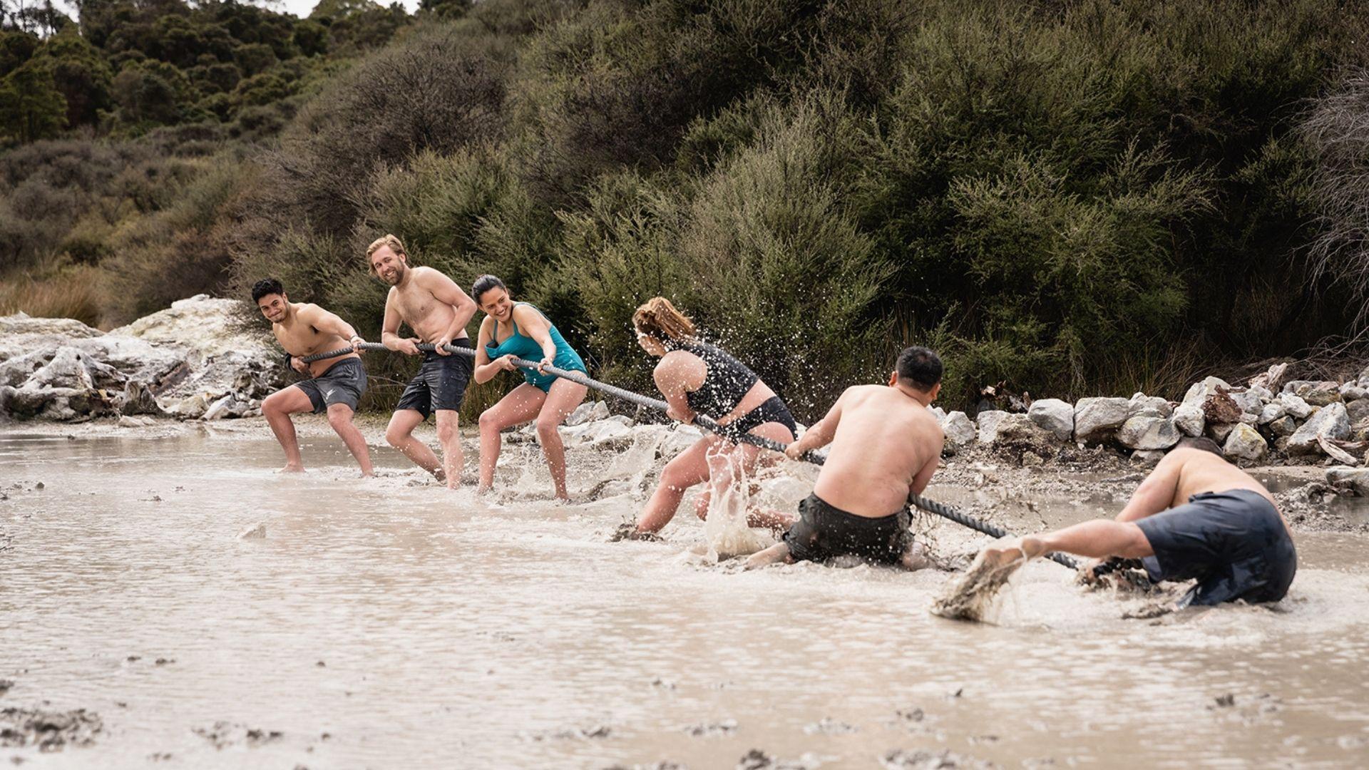 Rotorua Team Building Ideas - Hell's Gate