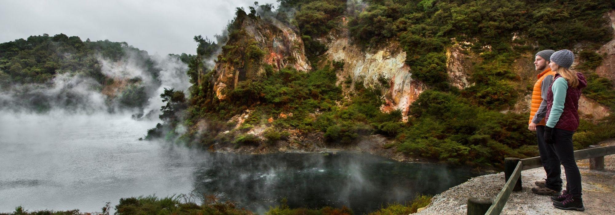 A mint winter day in Rotorua
