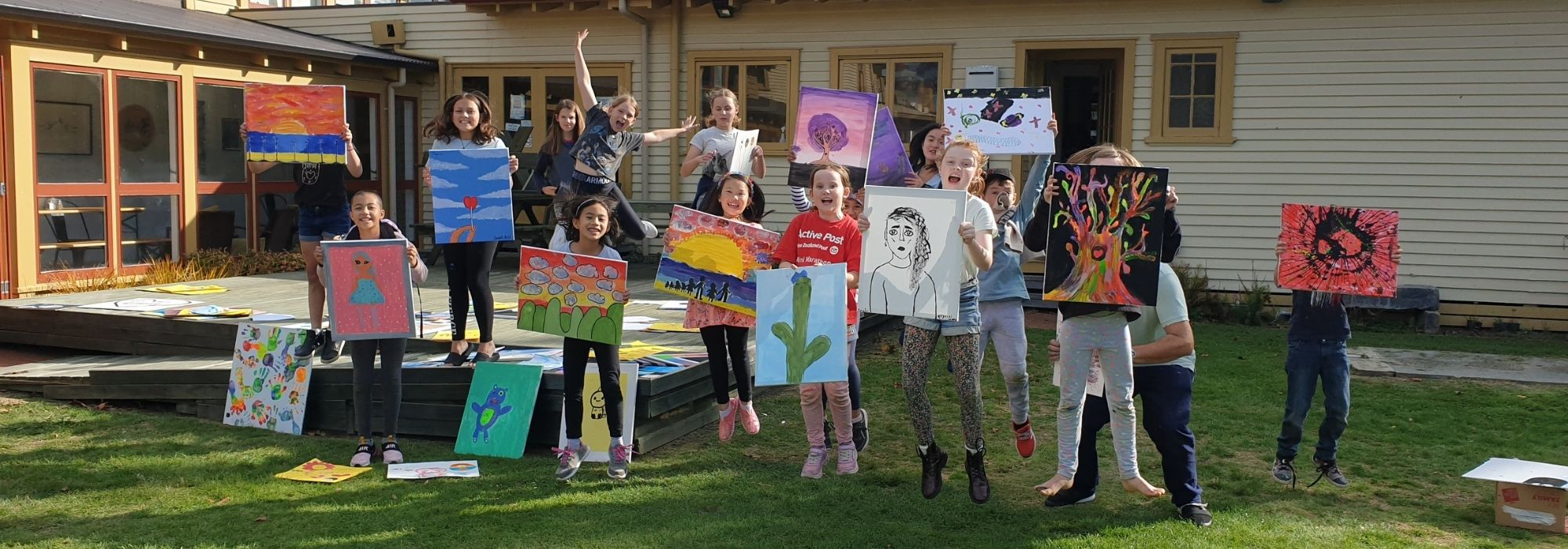 Bring the kids to Rotorua for a creative, colourful, crafty time