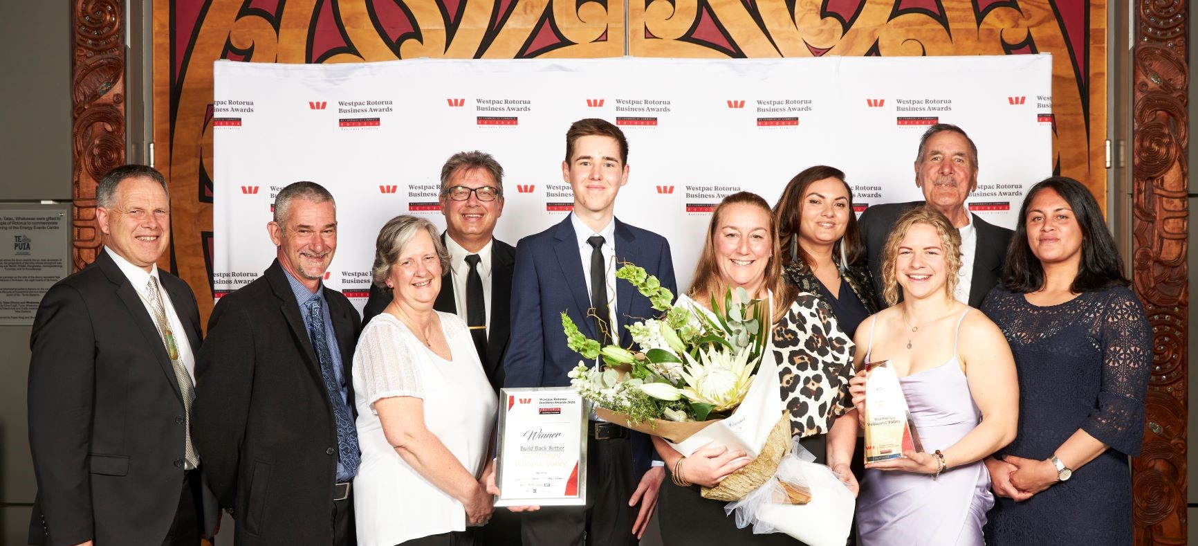 Quick thinking leads to business award
